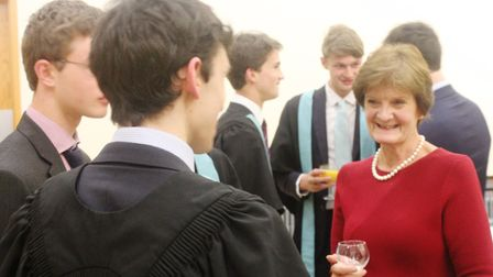 Master of Emmanuel College, Cambridge and former director-general of the National Trust Dame Fiona R