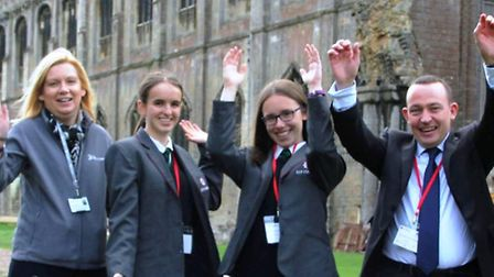 The East Cambs Careers and Skills Fair was held at Ely Cathedral on October 10. PHOTO: Mike Rouse.