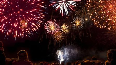Sparkling display of fun at All Saints School in March for fireworks night