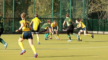 Action from Ely City ladies 3rds defeat to Newmarket 4ths.