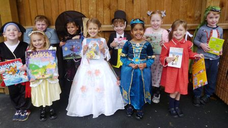 King's Ely Acremont and Nursery pupils dressed up as their favourite book characters as part of the
