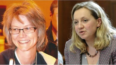 East Cambs and Cambridgeshire County councillor Anna Bailey (left) has hit out at Liberal Democrat l