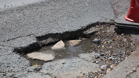 Cambridgeshire County Council have spent more than £7.5million repairing potholes across the county