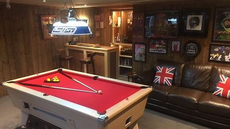 Ben Buey makes the shortlist for the 2017 Games Room of the Year, with his 'Wonkey Donkey' bar.