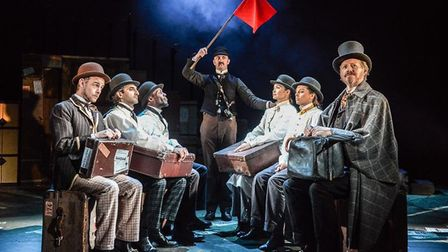 Around the World in 80 Days flying onto Cambridge Arts Theatre stage