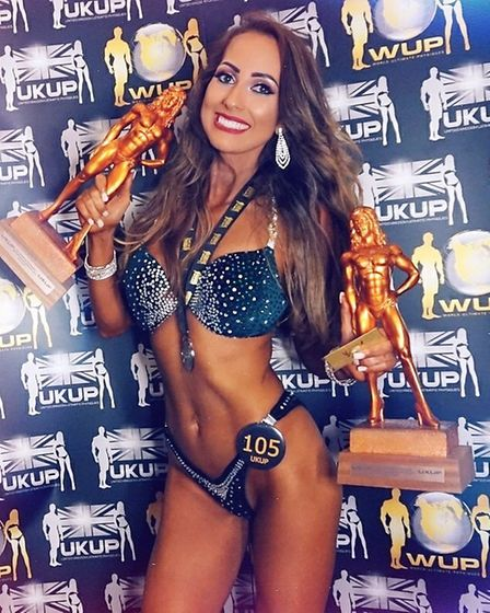 Ely's Soraya Barrera Coello takes 3rd place as the UK's Ultimate Female Model. PHOTO: Oliver Hudson