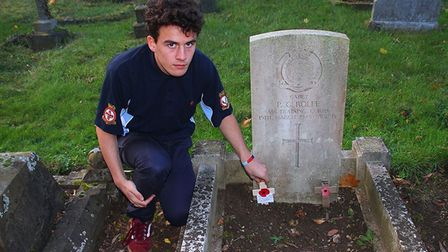 1094 (City of Ely) Squadron Royal Air Force Air Cadets are honouring PG Rolfe who died during action