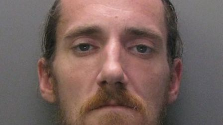 Tony Woodward is jailed for robbing an elderly woman of 50p then robbing a taxi driver at knifepoint