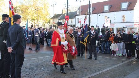 Ely Remembrance Sunday 2016