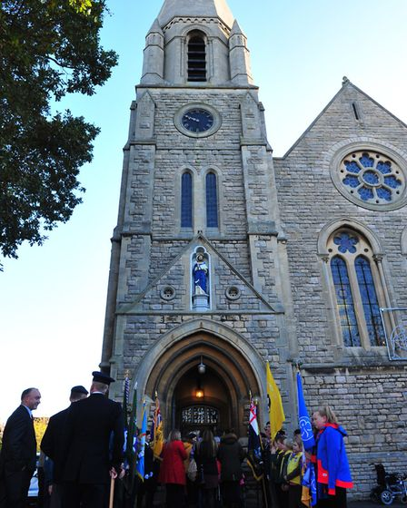 March Remembrance Day 2017 - St. Peter's Church PHOTO: Harry Rutter