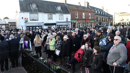 Chatteris Remembrance Day 2017 PHOTO: Ian Carter