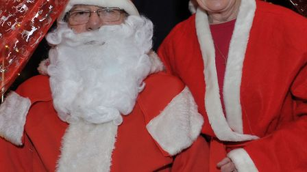 St Peters Christmas Fayre when Santa visited previously. March. Picture: Steve Williams.