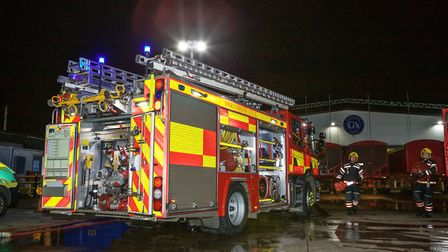 Emergency services took part in a training exercise at G's Fresh Beetroot in March on November 9. Th