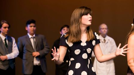 Ely College students took to the stage at the Mumford Theatre, Cambridge, to perform an abridged ada