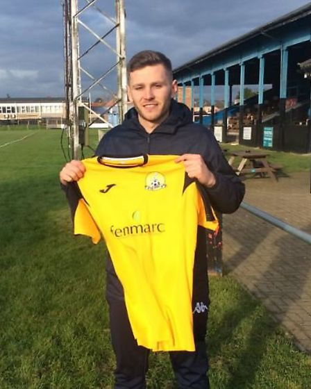 Gary Smith signed for March Town last Friday.