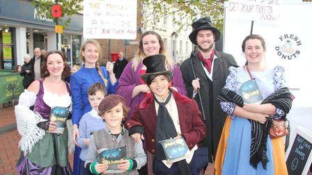 CAT Theatre Company are taking Ely back to 1837 London with their latest production of Oliver! PHOTO