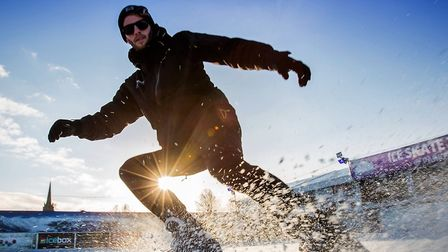 Get your skates on this winter and enjoy one of the UKs most stylish open-air ice rinks nestled amon