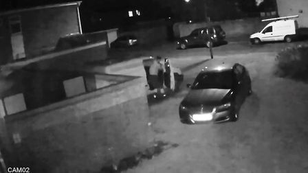 A Littleport man caught intruders searching his van thanks to the CCTV cameras he installed just thr