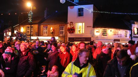Chatteris Lights Switch on 2016