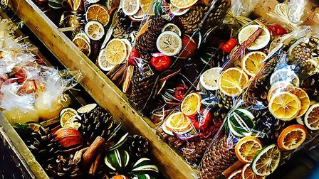 A wide range of festive gifts will be on offer at the Sworders Christmas market. Picture: Contribute