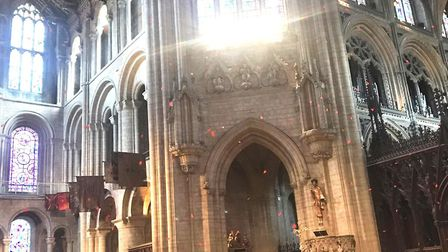 King's Ely community remembers the fallen during their annual service of remembrance at Ely Cathedra