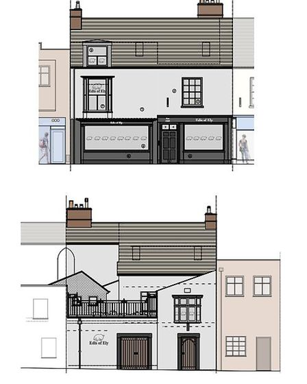 What Edis of Ely butchers will look like once the extension is complete.