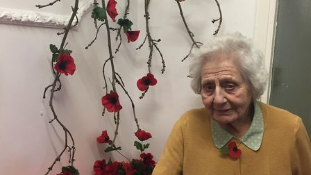 Connie Peace Hailstone celebrates her 99th birthday on Remembrance Sunday