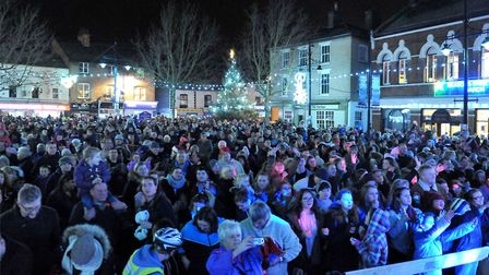The March Christmas lights switch on will happen on November 24 at 7 o'clock. Picture: Steve William