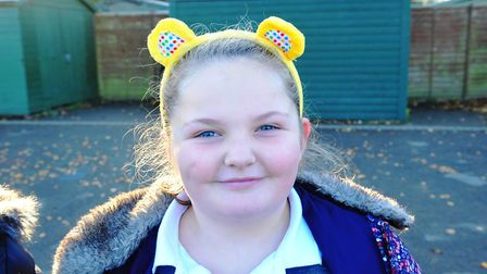 All Saints Inter-Church Academy are rasing money for Children In Need. PHOTO: Harry Rutter