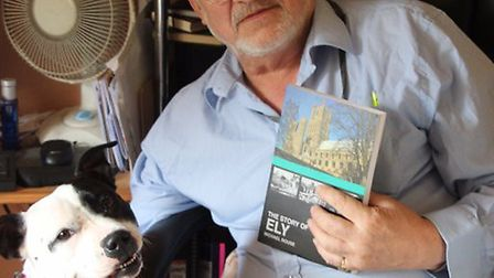 Historian Mike Rouse - pictured here with one of his other releases, The Story of Ely - is releasing