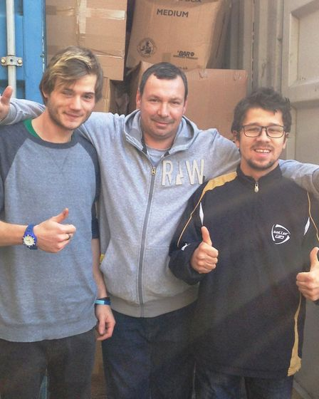 Local homelessness charity Emmaus Cambridge to send donated goods worth £10,000 to Romania. Roland B