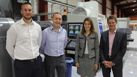 Haddenham company Faerch Plast - formerly Anson Packaging - opens new UK headquarters and design fac