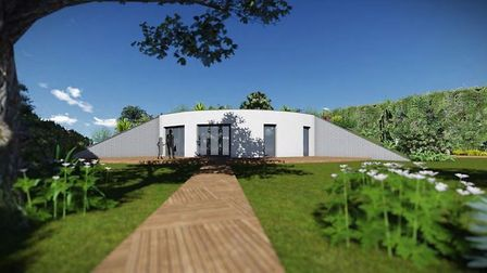 A family business has been given the green light to build Fenlands first earth-sheltered house at Go