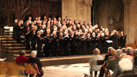 Ely Ribe Association performed with Ely Choral Society during a concert held at Ely Cathedral.