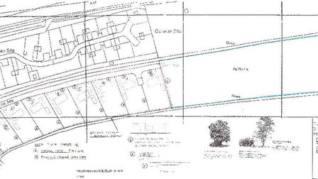 These photos were submitted as part of Esther Smith's planning application to turn a paddock at the