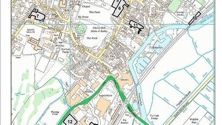 East Cambs District Council's car parks - The Dock opens next Monday next to Angel Drove