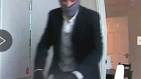 East Cambs Police release CCTV images of a man they would like to speak to in connection with a burg