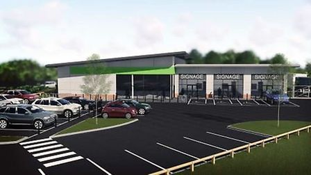 This is how the Co-op convenience store will look if plans to build it in Sutton are approved