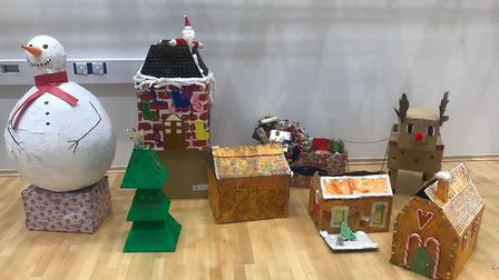 Novel way by Littleport Academy to create food boxes for the food bank in the village