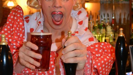 We're behind Brew! Royal Standard in Ely teams up with KD Theatre as part of panto partnership. Dame