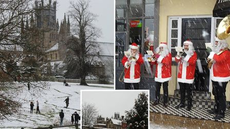 Ely's snow day captured by Fenland photographers.