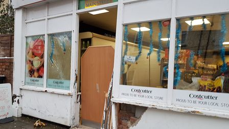 Costcutter on Main Street, Littleport, was targeted by ram-raiders on Saturday night (December 9). P