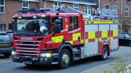 30 firefighters tackled a fire at Old Pools Drove, Littleport, this morning (December 11).