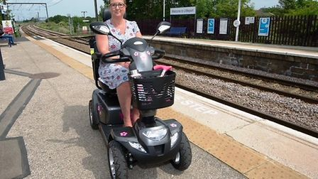 Maria Stableford met with ministers in London about disabled transport