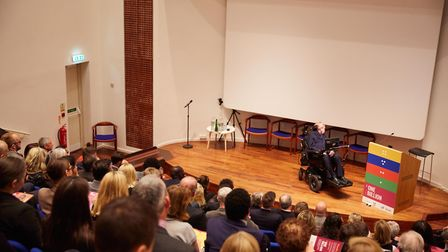 Professor Stephen Hawking speaks about his fathers role in developing a treatment for elephantiasis,