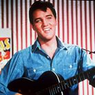 """Elvis Presley as a honky-tonk performer on the midway in this photo from the 1964 MGM film """"Roustabo"""