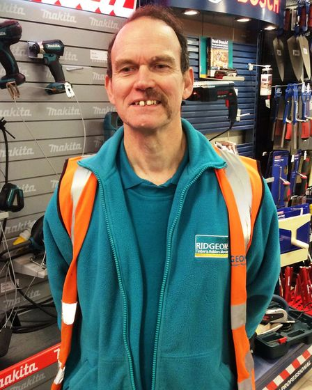 Nigel Gillings of Ridgeons March raised money for charity by taking part in Movember
