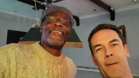 Was Hollywood actor, Samuel L Jackson really spotted in a March pub? Ian's photo with the look-a-lik