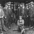 Daniel Robinson's saw mill at Stansted, with Smiler the horse and workmen. Picture: DANIEL ROBINSON