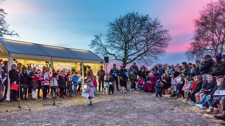 Crowds are expected for the Dunmow Christmas Market, which includes the Live Nativity, pictured here